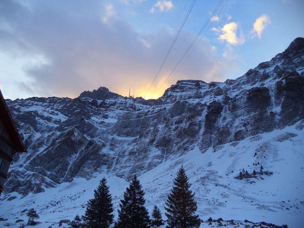Альпы: Сэнтис — панорама шести стран
