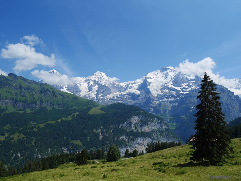 Выходные в Швейцарии: Интерлакен и Шильтхорн.